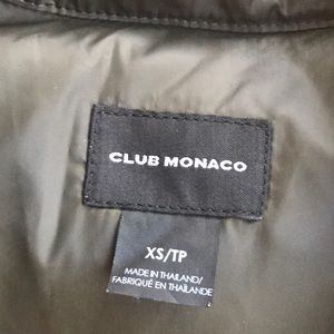 Club Monaco Jackets & Coats - Next to new club Monaco puffer vest